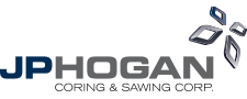 J.P. Hogan Coring & Sawing - Logo Designed by Joanne M. Meurer - ReInvent Strategies, Inc.