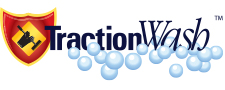 TractionWash - Logo Designed by Joanne M. Meurer, ReInvent Strategies, Inc,